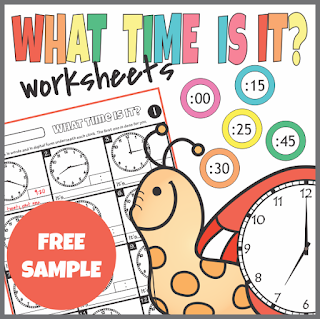 https://www.teacherspayteachers.com/Product/FREE-Sample-Telling-Time-Worksheets-3084587