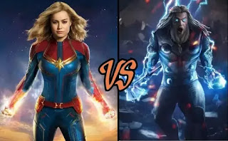 Thor vs Captain Marvel: Who is the Most Powerful Avenger?