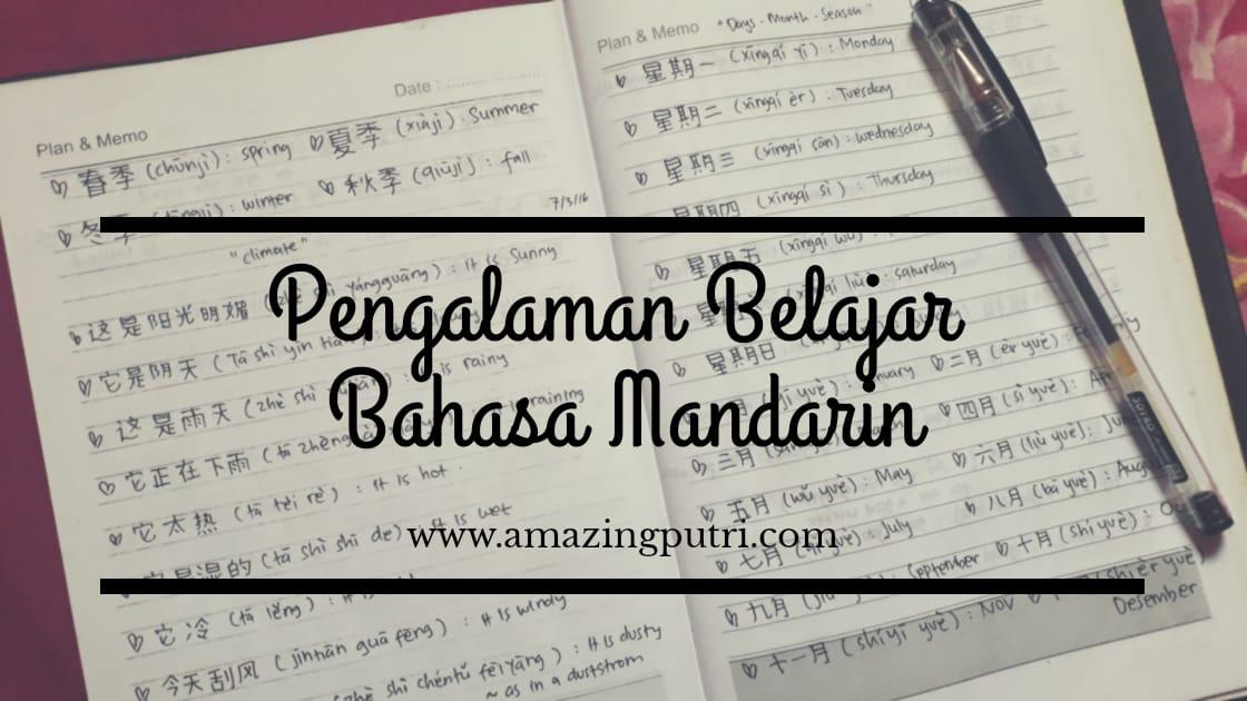 Pengalaman Belajar Bahasa Mandarin