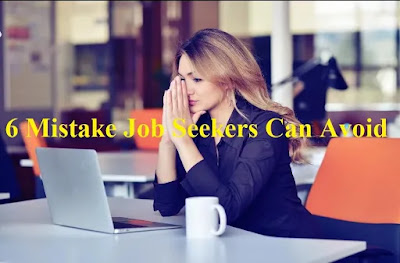 jobseeker mistakes