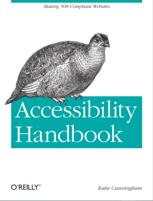 Portada de Accessibility Handbook de Katie Cunningham