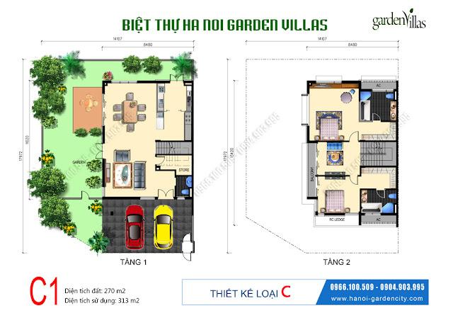 Biệt thự liền kề Garden Villas, biệt thự liền kể Long Biên, biệt thự garden City, biệt thự Arden Park