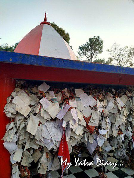 Adorned with letters - Chitai Golu Devta Temple Almora Uttarakhand