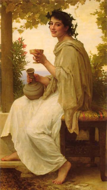 Адольф Вильям Бугро - Вакханка (1892)