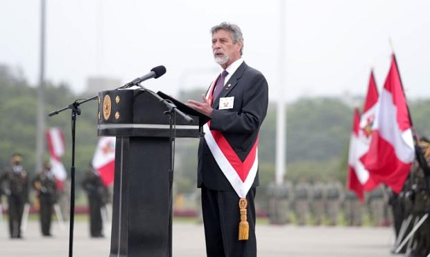 Presidente Sagasti encabeza ceremonia por el 196°aniversario de la Batalla de Ayacucho