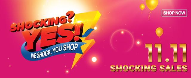 11street Malaysia 11.11 Shocking Sales