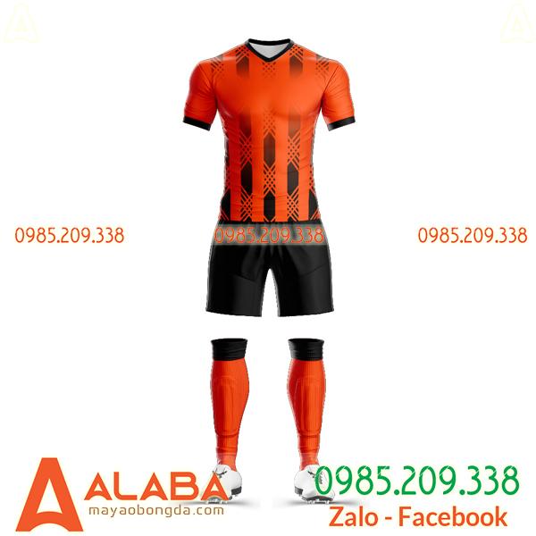 Các mẫu áo bóng đá màu cam đẹp