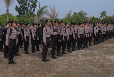 Ratusan Personel Polda Kepri Jalani Alih Tugas