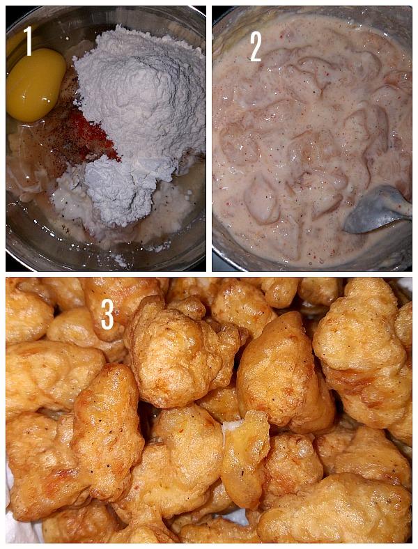 Steps to make thai sweet chili chicken