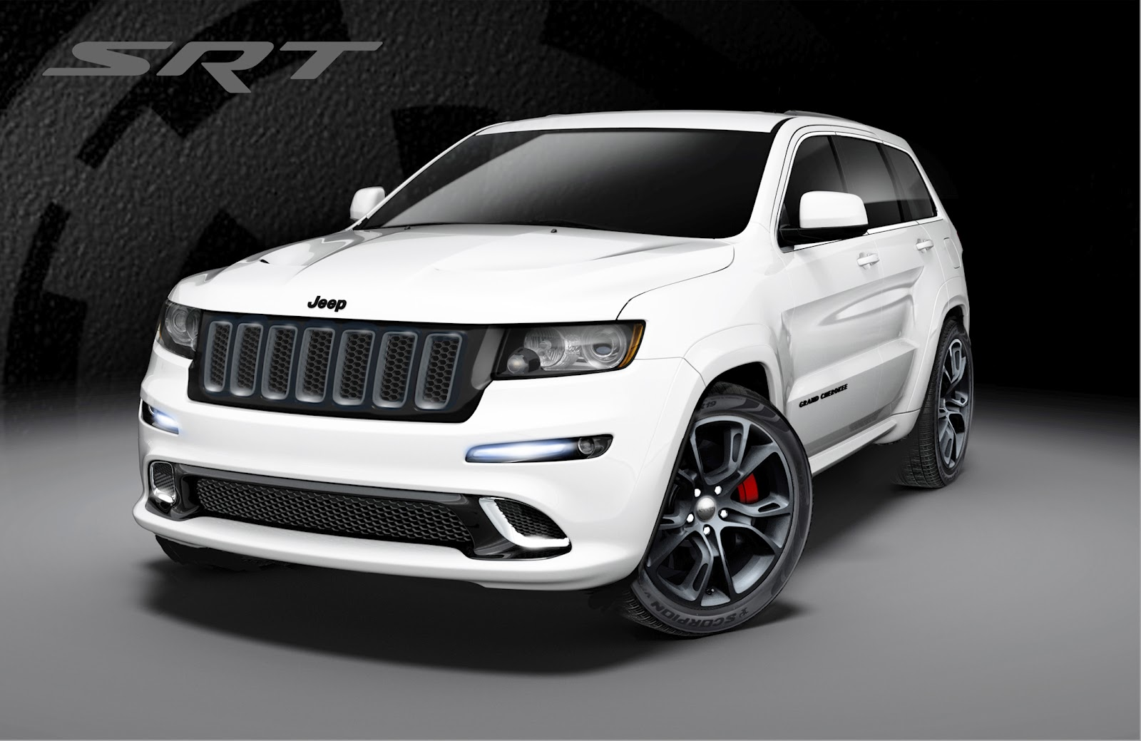 2013 jeep grand cherokee srt8 deux nouvelles couleurs. Black Bedroom Furniture Sets. Home Design Ideas