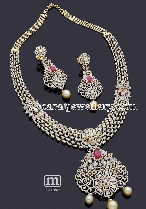 Opulent Diamond Necklace