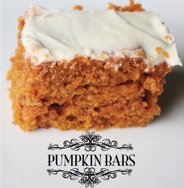 Creative Quot Try Quot Als Easy To Make Pumpkin Bars