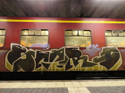 In a world full of duties and social pressures, painting a train is pure freedom to me – Alle