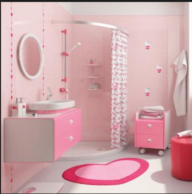 Desain Rumah Nuansa Pink Yang Cantik 11