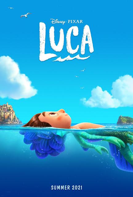 Pixar Luca Sea Monster Theatrical Poster