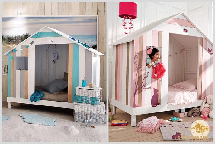 Casas de playa para chicos con mucha imaginacion y ganas de jugar