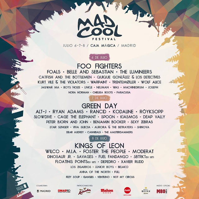 Mad Cool, 2017, Festival, Madrid, Concierto