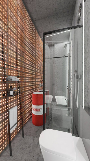 Bathroom Design Without Bathtub