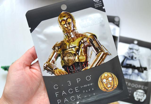 C3PO Star Wars Sheet Mask