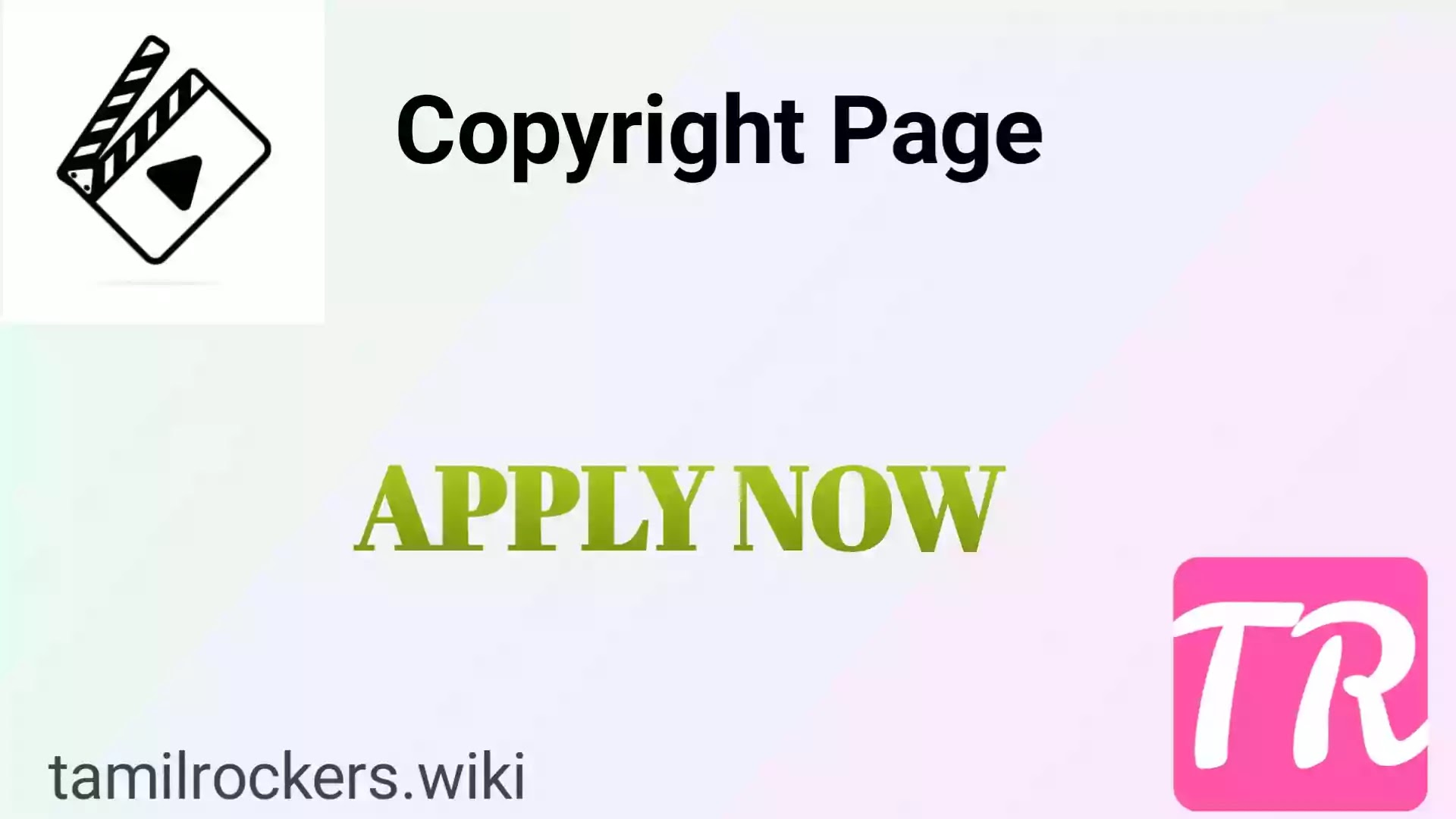 copyright tamilrockers