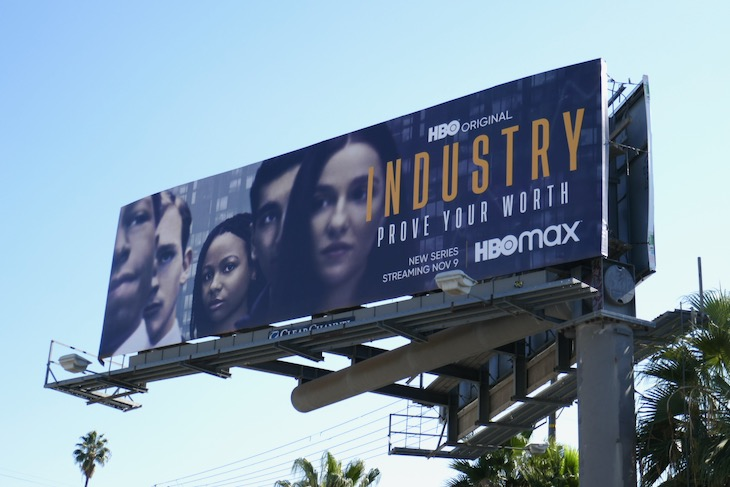 Industry series launch billboard