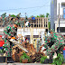 Pasca Bencana Angin Kencang Kodim 0808/Blitar Gelar Karya Bhakti