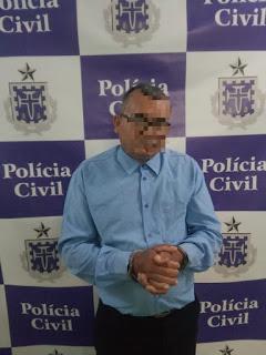 """POLÍCIA CIVIL PRENDE """"PASTOR"""" SUSPEITO DE ESTUPRAR MENOR DE 14 ANOS EM ANDORINHAS"""