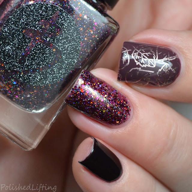 autumn nail art