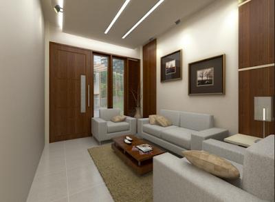 desain ruang tamu untuk ruangan ukuran kecil