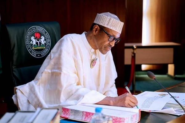 Buhari Said The Position Of His vice Osinbajo's Was Under threat