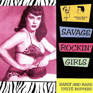 VA Savage Rare Girl Rockers From The 50's