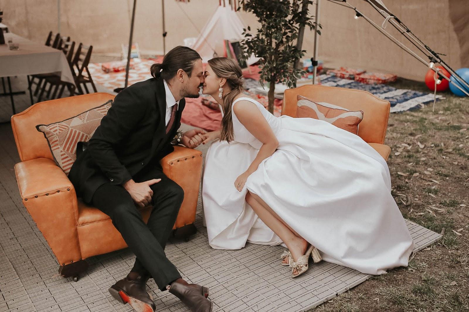 LOVE: SYLVIE + JOEL | RELAXED FESTIVAL VIBE WEDDING BENDIGO VIC