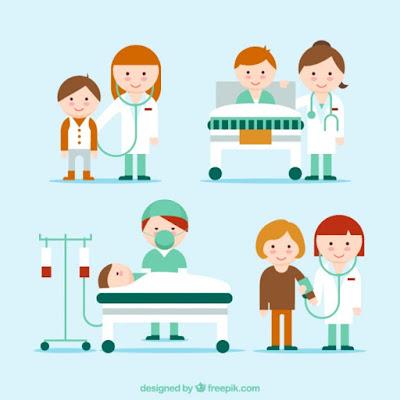 Kosakata Nama-nama Peralatan Medis Dan Orang Yang Bekerja  Di Rumah Sakit Dalam Bahasa Inggris - Daily English Vocabulary #63