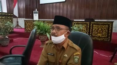 Wakil Ketua Gugus Tugas Mengaku Tidak Tau Alasan Naiknya Status Bungo Dari Siaga ke Tanggap Darurat