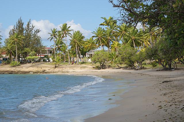 La plage de Gros Raisins