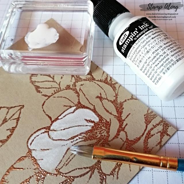 Stampin' Up! Good Morning Magnolia #stamperschallenge dag 1