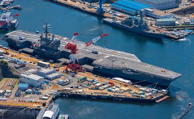 Grupos de ataque USS Ronald Reagan e USS Nimitz se mobilizam em meio a tensões com a China 2