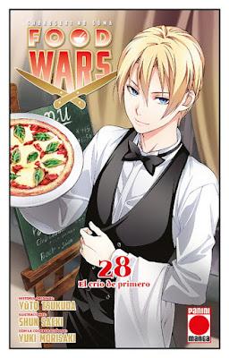 Reseña de Food Wars: Shokugeki no Soma vols. 28 y 29 - Panini Manga