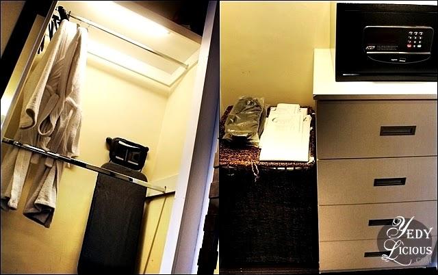 Closet at Oakwood Manila