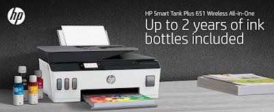 HP Smart-Tank Plus 651 Wireless Driver Download
