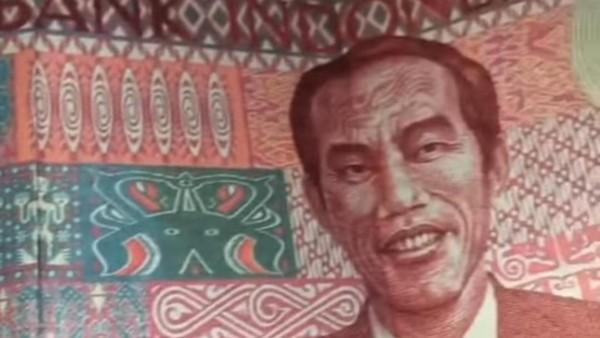 Begini Penampakan Redenominasi Rp 100 Bergambar Jokowi yang Viral