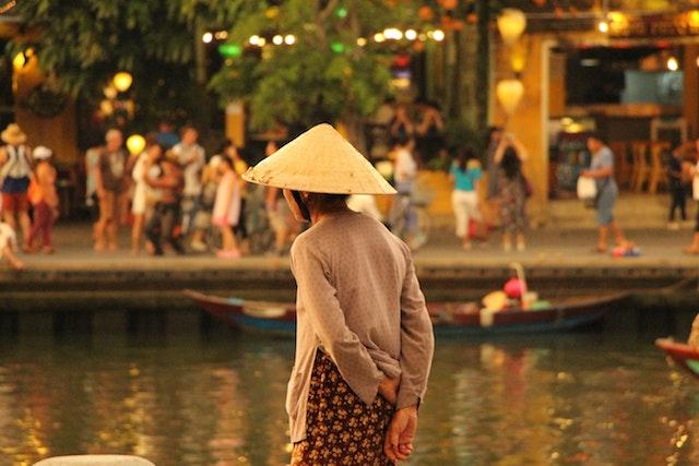 viaggio Vietnam cappello paglia
