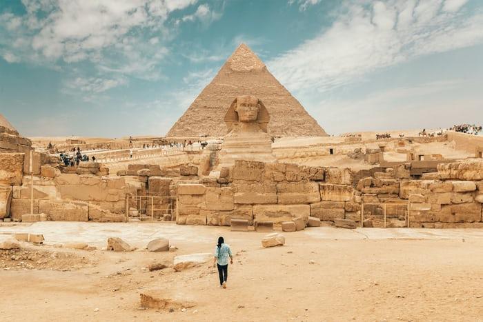 خلفيات 4k من الاهرامات مصر