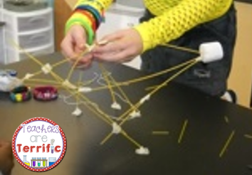 STEM Challenge: It's the great Spaghetti challenge! How are the legs of this tower even standing?