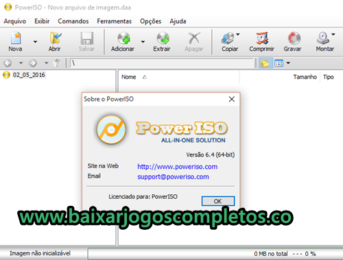 Power ISO v6.4 - PC (Download Completo em Português)