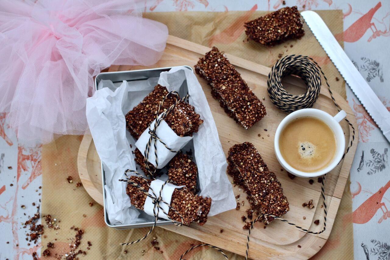Veganer Schokoriegel ohne Zucker
