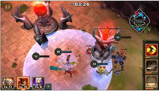 Legendary Heroes MOBA APK MOD Offline for Samsung,Asus,Etc.
