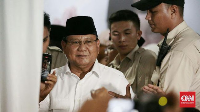 Prabowo Punya Pesan di Balik Ucapan Indonesia Bubar 2030