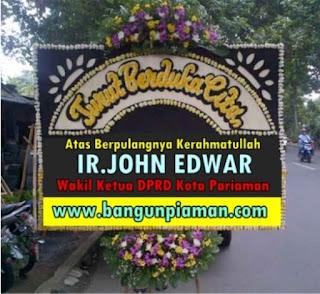 Kota Pariaman Berduka, Ir.John Edwar Wakil Ketua DPRD Berpulang Kerahmatullah.
