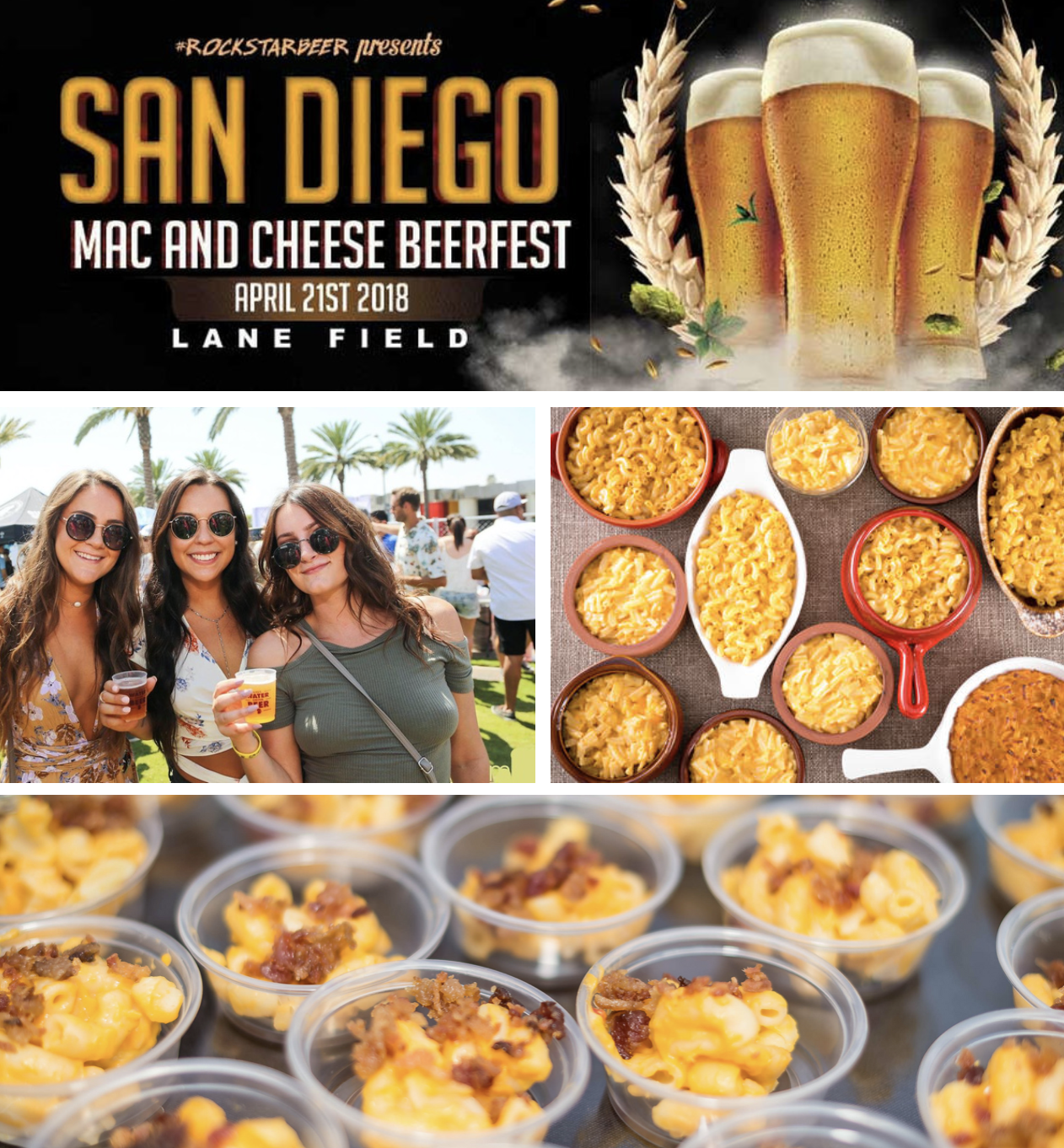 Save on passes & Enter to win VIP tickets to the San Diego Mac & Cheese BeerFest - April 21!